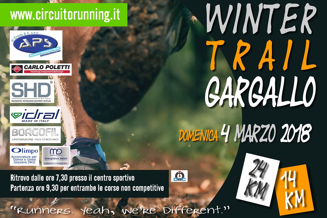 Winter Trail Gargallo 2018
