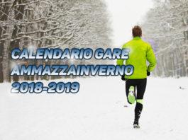 Calendario gare Ammazzainverno 2018-2019