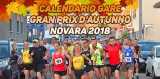 Calendario gare Gran Prix d'Autunno Novara 2018