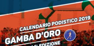 Calendario podistico Gamba d'Oro 2019