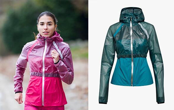 Lisa Migliorini Rain lock jacket di Diadora