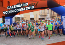 Calendario gare VCO in Corsa 2019
