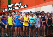 Presenze Gamba d'Oro 2019