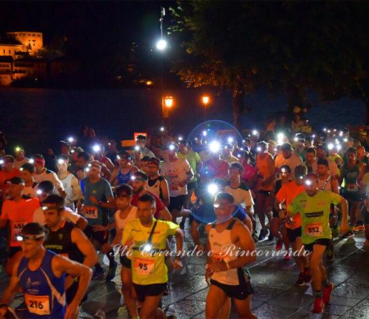 Lago d'Orta Night Run 2019 (classifica e foto)