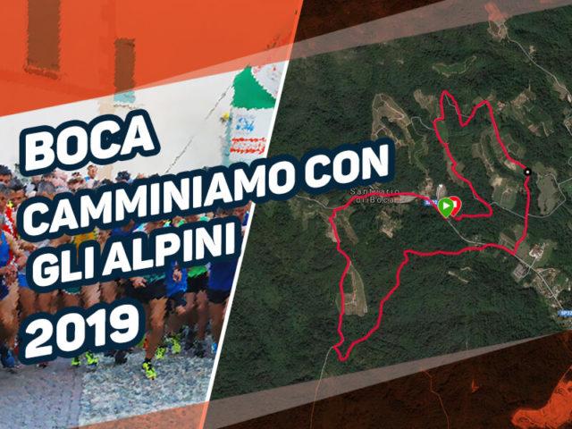 Camminiamo con gli Alpini Boca 2019 (classifica)
