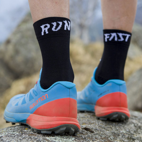Classic Run Fast socks nero retro