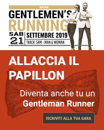 Gentlemen's Running 2019 banner iscrizioni sidebar Run Fast