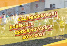 Calendario gare Poker del Cross Novarese 2019-2020