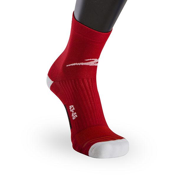 Classic Run Fast socks rosso