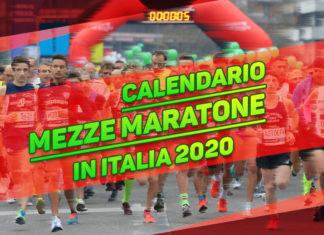 Calendario mezze maratone in Italia 2020