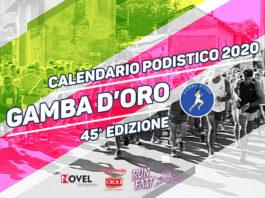 Calendario gare Gamba d'Oro 2020