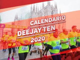 Calendario Deejay Ten 2020