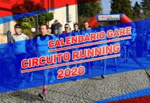 Calendario gare Circuito Running 2020