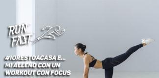 #iorestoacasa e… mi alleno con un workout con focus total body