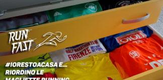 #iorestoacasa e… riordino le magliette running