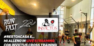 #iorestoacasa e... mi alleno in live streaming con Invictus Cross Training