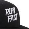 Classic Run Fast hat nero dettaglio