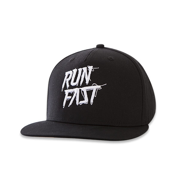 Classic Run Fast hat nero front