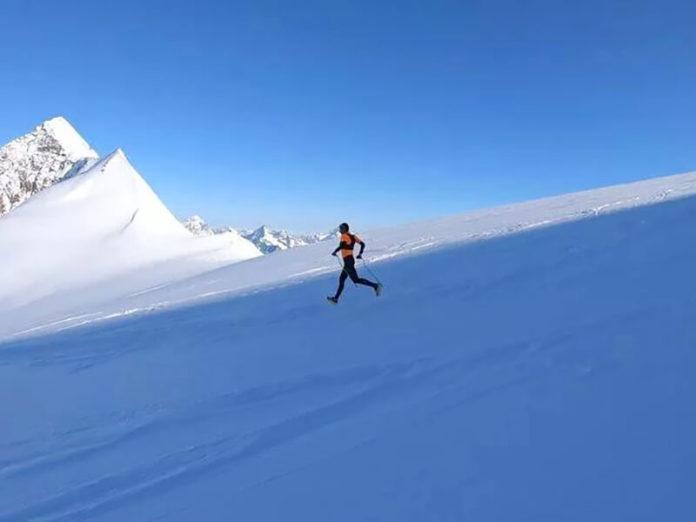 Franco Collè, nuovo record di salita e discesa dal monte Rosa