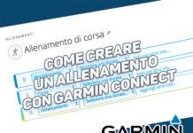 Come creare un allenamento con Garmin Connect