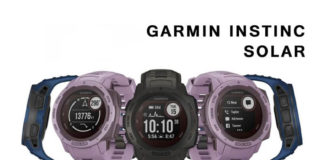 Garmin Instinc Solar Run Fast