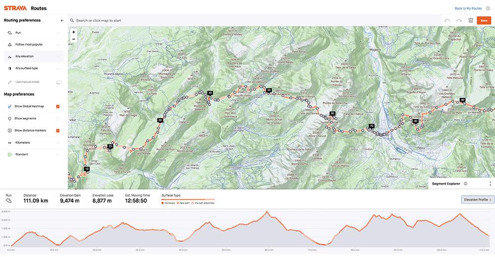 Tracciando l'Alta Via da Annecy a Chamonix