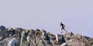 Davide's way against the clock - Presanella (video)